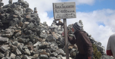 Trilha Salkantay