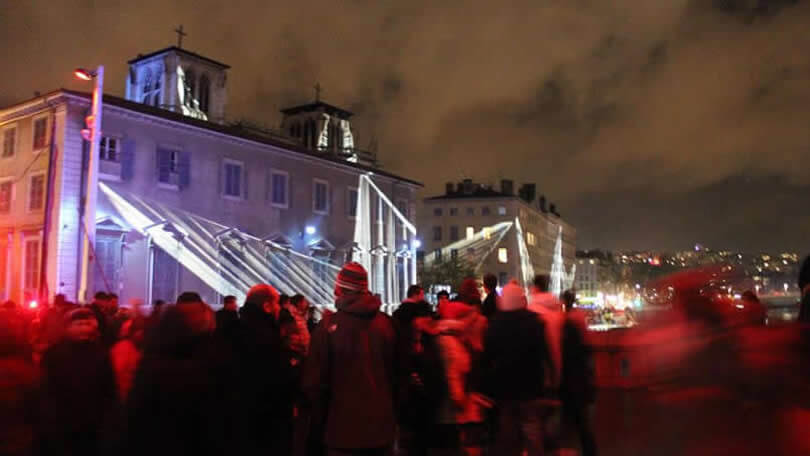 Festa das luzes em Lyon