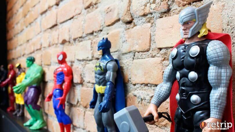 Decoração de Heróis
