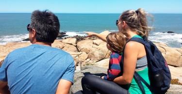 Uruguai com crianças