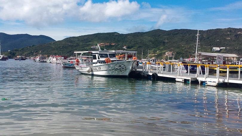 Passeio de barco em Arraial do Cabo